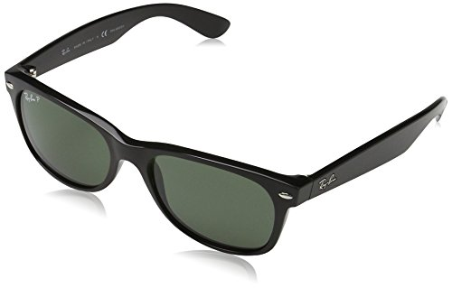 Ray-Ban Unisex New Wayfrer RB2132 901/58 Polarized - Size 52 Aviator Ray Ban