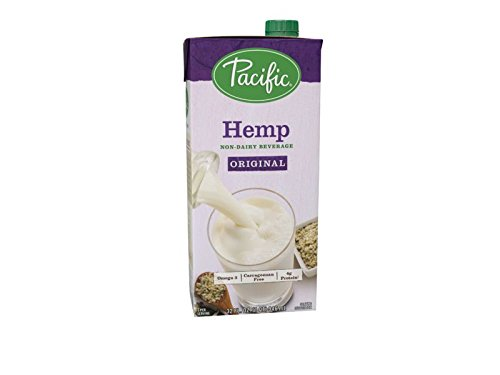 Pacific Foods Hemp Non-Dairy Beverage, Original, 32-Ounce, (Pack of 12)