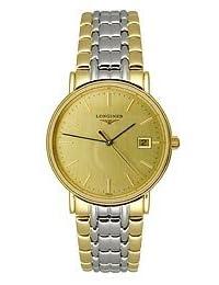 Longines La Grande Classique Gold Dial Two-tone Mens Watch L47202327