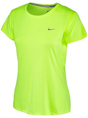 Nike Miler Women's T-Shirt Volt/Reflective Silver ieJqB