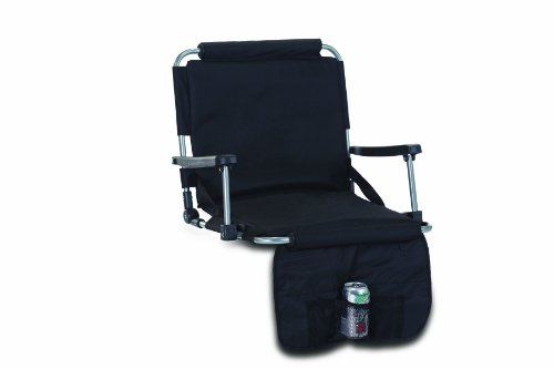 Picnic Plus Stadium Seat - Black One (Insulated Stadium Jacket)