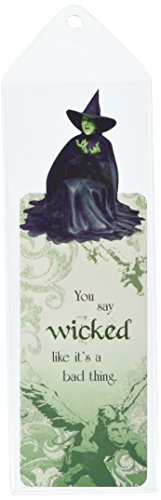 Paper House Productions BMGL-0002E Glitter Bookmark, The Wizard of Oz - Wicked Witch (6-Pack)