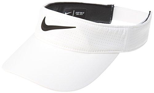 - NIKE Women's Aerobill Golf Sports Visor (White)