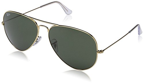 Ray-Ban Large Metal Ii Aviator Sunglasses, Arista, 62 - Day Rb Com