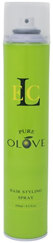 (ELC Pure Olove Hair Styling Spray for Unisex, 9.5)