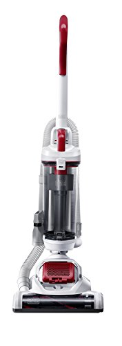 Black & Decker Ultra Light Weight BDASP103 AIRSWIVEL Lightweight Upright Cleaner, Pet Vacuum, White ()