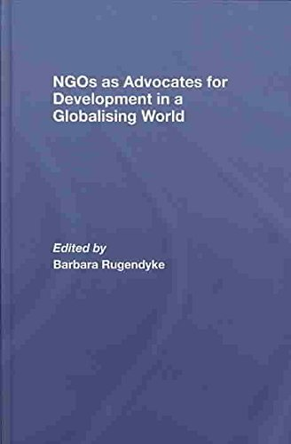 NGO's as Advocates for Development in a Globalising World(Hardback) - 2007 Edition ebook