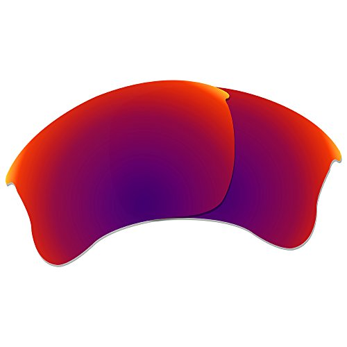296fe7fb63c Dynamix Polarized Replacement Lenses for Oakley Flak Jacket XLJ - Multiple  Options (Midnight