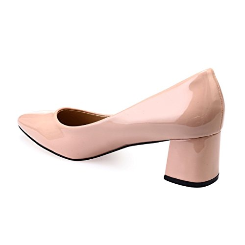 La Vestir Mujer Beige Zapatos Sintético 48015 De Modeuse rxwfqOrA