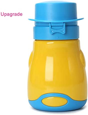 red Baby Portable Urinal Potty Child Emergency Toilet for Toddler Upgrade Baby Car Camping Travel and Kid Potty Pee