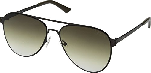Unisex Satin Lens With Guess Gf0180 Gradient khaki Gunmetal Olive qCnwnfZxdv