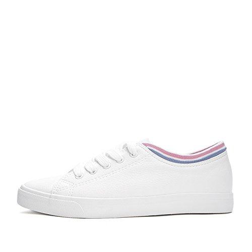 bianche nastro 34 rotonda profonde bellezza primavera piatte carina signora Scarpe punta scarpe scarpe DHG a bianca scarpe dolce wYqBUSBX
