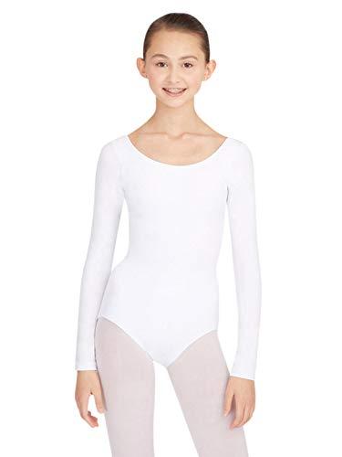 Capezio Women's Long Sleeve Leotard,White,Medium]()