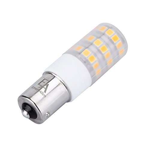EmeryAllen 3.5W Miniature LED Bulb - Single Contact Bayonet BA15s Base, 10-15V AC/DC, CRI >90, CCT 3000K ()