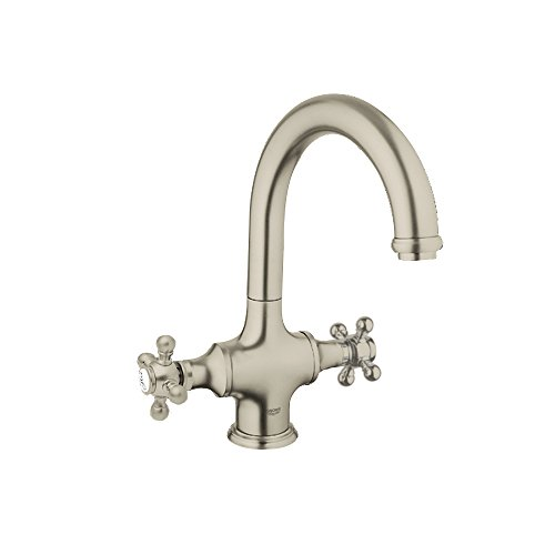 (Grohe K31055-18733-ENE Bridgeford Bar Faucet with Handles)