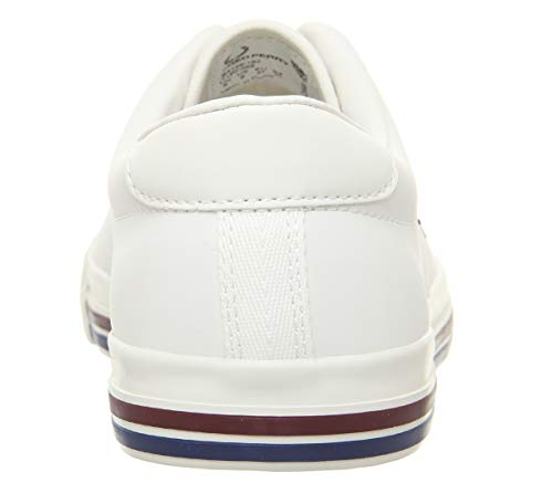 Zapatillas Leather Perry Underspin Blanco Hombre Fred EfRIwqw