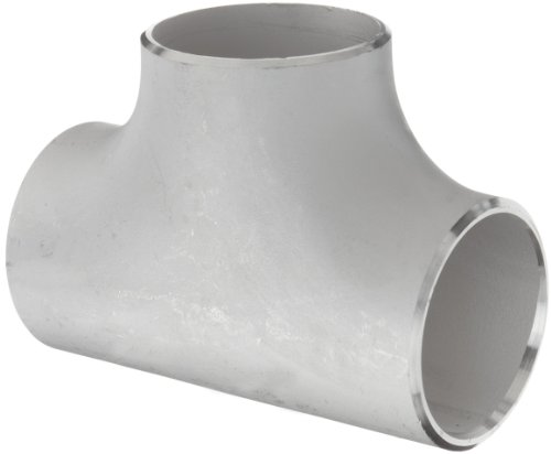 Stainless Steel 316/316L Butt-Weld Pipe Fitting, Tee, Schedule 10, 3