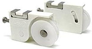 ビニフレ 純正部品 網戸戸車 FB45型 偏芯用 網戸-052WH ホワイト 左右1セット