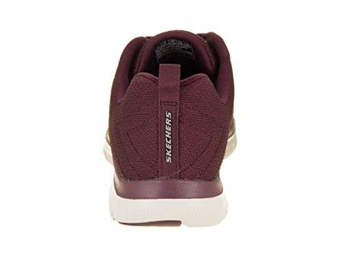 Appeal Free Burgundy Women's Casual 2 0 Break Shoe Flex Skechers FzEYwqRY