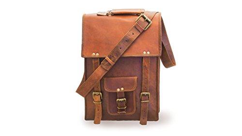 "Borsa 100% Pure 15 ""Travel Casual Office Spalla Unisex Brown Ipad Borsa"