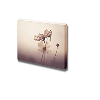 Canvas Prints Wall Art - Vintage Flowers | Modern Wall Decor/Home Decoration Stretched Gallery Canvas Wrap Giclee Print. Ready to Hang - 24