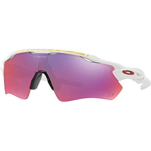 Oakley Men's Radar Ev Path Rectangular Sunglasses, Matte White, 38 - Sunglasses Radar Path