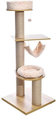 猫の木と塔、猫のクライミングフレーム、子猫のゲームエンターテイメントセンター、柔らかい猫の巣と猫のジャンプ台、ハンギングボールと猫のハンモック、(59x59x151cm) (Size : 59x59x151cm)