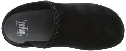 Fitflop Zapatos Castaño Gogh Moc Makizin All Black