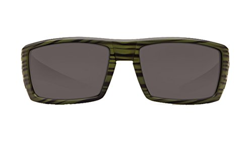 Costa Del Mar Rafael Sunglasses Gray 580 Plastic Lens