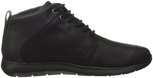 Geox Men U Gektor B Abx Een Hoge Sneaker Zwart (black)