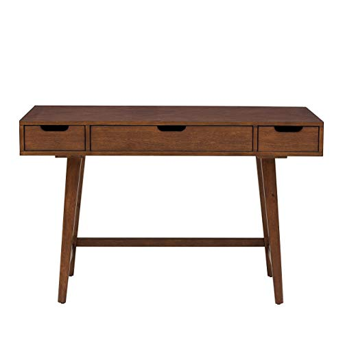 Pulaski DS-A130-550 Three Drawer Mid-Century Modern Writing Desk ()