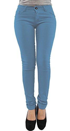 Taglia Sky Tipo Da Pantaloni 36 Leggins Skinny A Donna 54 Jeans Elasticizzati Blue Modello xUBwRq8U