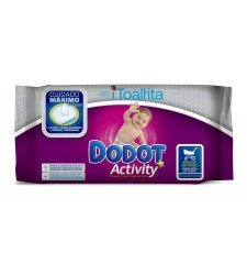 Toallitas DODOT Activity (formato paseo) 264 unidades(11 paquetes de 24 toallitas)