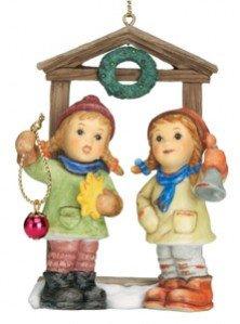 M.I. Hummel Christmas Ornament - Seasons Of Good Cheer