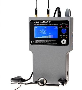 Detector para micrófonos, GSM, DECT y Bluetooth y WLAN - Protect 1206 I: Amazon.es: Electrónica