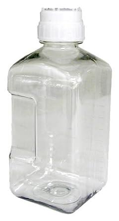 Nalgene Sterile Media Bottle Square Petg Amazon Com