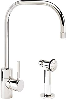 product image for Waterstone 3825-1-AB Fulton Kitchen Faucet w/Side Spray Antique Brass