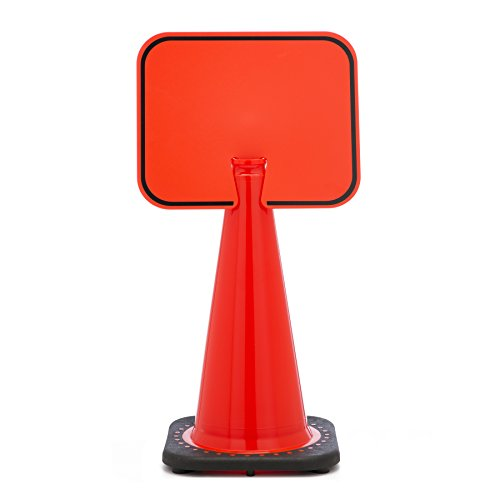 Mutual Industries 17729-0-0 Traffic Cone - Blank Cone Sign, 13