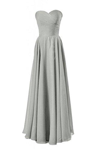Daisyformals Longue Robe De Soirée Chérie Robe De Soirée De Mariage De Plage (bm7860) # 55 Gris