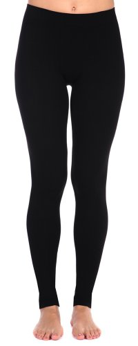 Tees by Tina Smooth Leggings (Black)