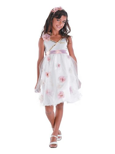 [HSM 3 Gabriella Prom Deluxe Child Halloween Costume (Small (4-6X))] (Hsm Costumes)