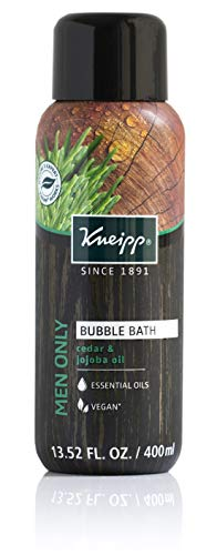 Kneipp Cedar and Jojoba Oil Bubble Bath, 13.52 fl oz