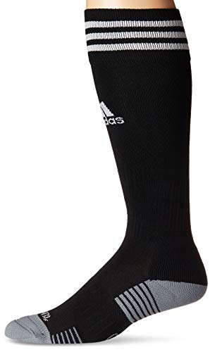283a409e6e41 adidas Copa Zone Cushion IV Soccer Socks (1-Pack), Black/White, 9-13