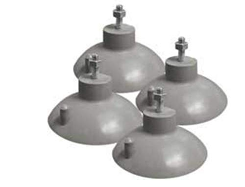 Weston French Fry Suction Cup Feet (4 pcs),gray ()