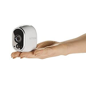 Arlo by NETGEAR Security Camera (NETGEAR Certified Refurbished) - Add-on Wire-Free HD Camera [Base Station not included], Indoor/Outdoor, Night Vision (VMC3030), Works with Alexa