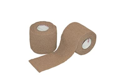 "Pac-Kit by First Aid Only 5-911 Self-Adhering Cohesive Wrap, 5 yds Length x 2"" Height from Pac-Kit"