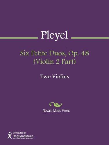 Six Petite Duos, Op. 48 (Violin 2 Part)