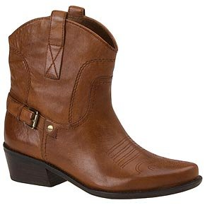 35b10640116 Amazon.com | Franco Sarto Women's Waco Short Western Boot, Cuoio ...