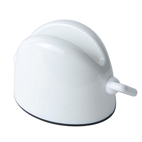 niceeshop(TM) White Thoroughly Squeeze New Paste Toothpaste Holder Tube Squeezer Auxiliary+niceEshop Cable Tie