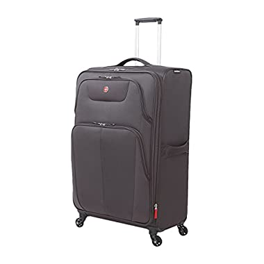 SwissGear Meyrin 29  Expandable Spinner Suitcase, Charcoal